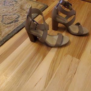 Ecco womens strappy heels